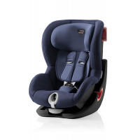 Автокресло Britax Roemer King II Black Series Moonlight Blue Trendline, цвет: синий