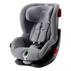 Автокресло Britax Roemer King II LS Black Series, Cool Flow - Silver, серый