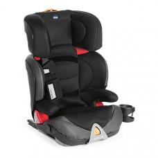 Автокресло Chicco OASYS 2-3 FIXPLUS EVO, Jet Black, черный
