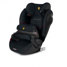 Автокресло Cybex Pallas M-Fix SL FE Ferrari, Black, черный