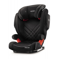 Автокресло Recaro MONZA NOVA 2 SEATFIX, PERFORMANCE BLACK, черный
