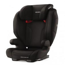 Автокресло Recaro MONZA NOVA EVO SEATFIX, PERFOM BLACK, черный