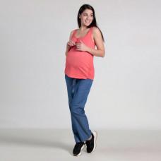 Брюки джинсовые Oh Ma для беременных, синий