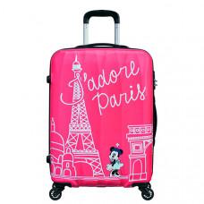 "Чемодан Disney by American Tourister Disney Legends, TAKE ME AWAY MINNIE PARIS, ""Минни Париж"", розовый"