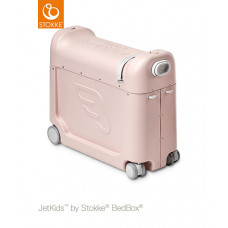 Чемодан-трансформер Stokke JETKIDS BEDBOX, Pink Lemonade, розовый