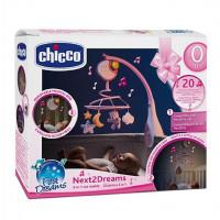 Chicco Мобиль Next2Dreams, розовый