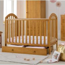 Детская кроватка Mothercare Marlow 120×60 см, цвет: натуральный