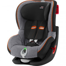 Детское автокресло Britax Roemer King II LS Black Series Black Marble Highline, черный