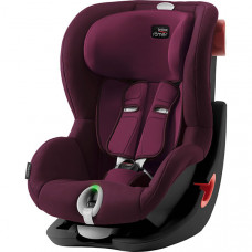 Детское автокресло Britax Roemer King II LS Black Series Burgundy Red Trendline, бордовый