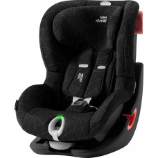 Детское автокресло Britax Roemer King II LS Black Series Crystal Black Highline, черный