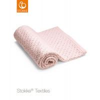 Детское Одеяло из шерсти мериноса Stokke, розовый