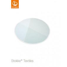 Детское овальное одеяло Stokke Knit Mint OCS, 95 см