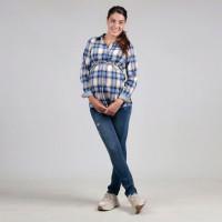 Джинсы для беременных OH MA, синий