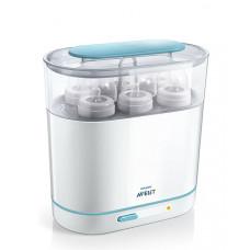 Электрический паровой стерилизатор Philips Avent 3 в 1, белый
