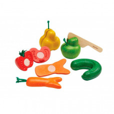 "Игра ""Нарежь фрукты и овощи"" Plan Toys Pretend Play Kitchen"
