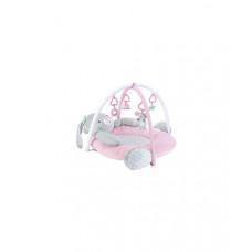 """Игровой коврик """"Зайка"""" для новорожденных, розовый"""
