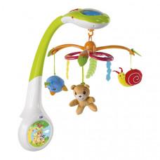"""Игрушка-мобиль Chicco на кроватку с проектором """"Магический лес"""""""