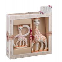 """Игрушки в наборе в подарочной упаковке Vulli """"Жирафик Софи"""""""