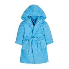 Халат махровый, детский, голубой 541425