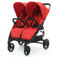 Коляска для двойни Valco baby Snap Duo Fire red, красный