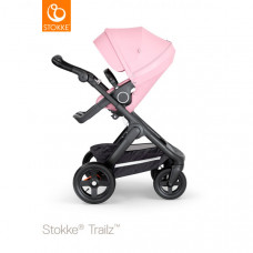 Коляска Stokke Trailz, Lotus Pink, розовый