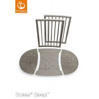 Комплект боковинок для детской кровати Stokke Sleepi цвет серый