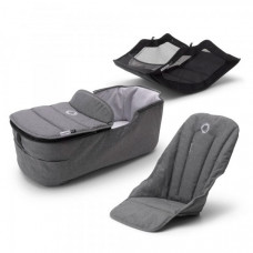 Комплект Bugaboo Fox 2 Grey Melange, серый меланж