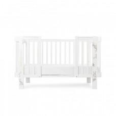 Комплект расширения для кроватки Happy Baby Mommy Love, белый