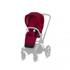 Комплект тканевых чехлов Cybex Seat Pack Priam III, True Red, красный
