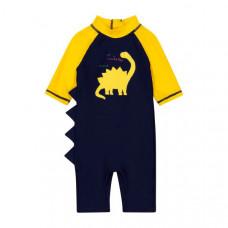 """Костюм солнцезащитный """"Динозаврик"""", желтый и синий"""