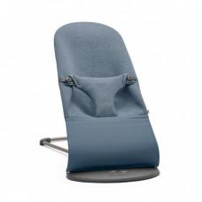 Кресло-шезлонг BabyBjorn Bliss, Dove Blue, 3D Jersey, пепельно-синий