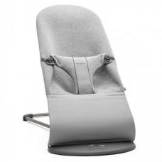 Кресло-шезлонг BabyBjorn Bliss, Light grey, 3D Jersey, светло-серый