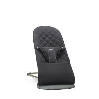 Кресло-шезлонг BabyBjörn Bliss Cotton, цвет: черный