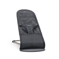 Кресло-шезлонг BabyBjörn Bliss Mesh, цвет: серый