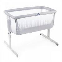 Кроватка детская Chicco Next2Me Air Stone, серый