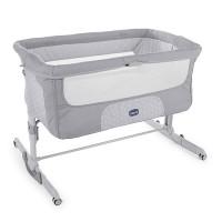 Кроватка детская Chicco Next2Me Dream Luna, серый