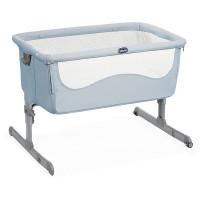 Кроватка детская Chicco Next2Me Ocean, голубой