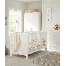 Кроватка детская Mothercare Stretton 140х70 см, белый