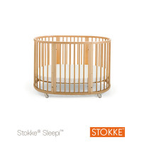 Кроватка детская STOKKE SLEEPI, натуральное дерево