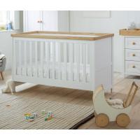 Кроватка Mothercare Lulworth 140×70 см, цвет: белый