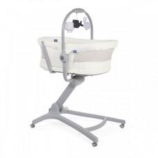 Кроватка-стульчик Chicco Baby Hug 4 в 1 Air White Snow, белый
