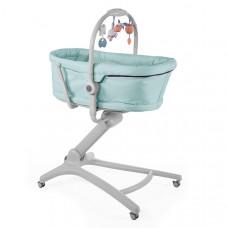 Кроватка-стульчик Chicco BABY HUG 4in1, цвет: бирюзовый