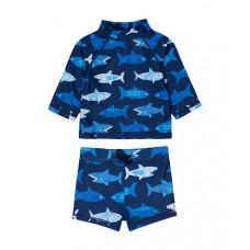 """Купальный костюм """"Акулы"""", синий"""