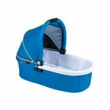 Люлька Valco Baby Q Bassinet для Trimod X, Snap 4 Ultra, Quad X Ocean Blue, голубой