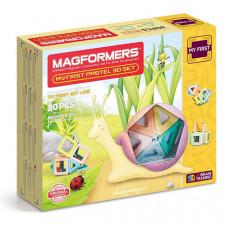 "Магнитный конструктор MAGFORMERS ""My First Pastel Set"", 30 шт."