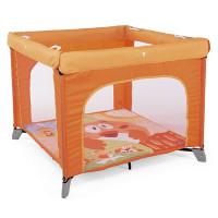 Манеж Chicco Open Box Fancy Chicken, оранжевый