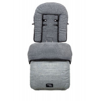 Муфта для ног Valco baby Snug Grey Marle, серый