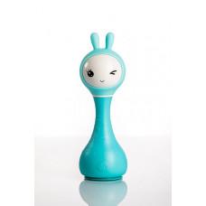 Музыкальная игрушка зайка alilo R1, цвет: синий