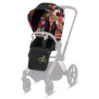 Набор чехлов прогулочного блока для коляски Cybex Priam III FE Spring Blossom dark, многоцветный