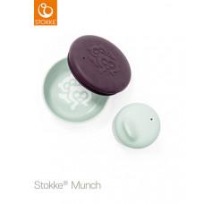 Набор детской посуды Stokke Munch Snack Pack, Soft Mint, мятный